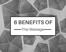 benefits of Thai massage
