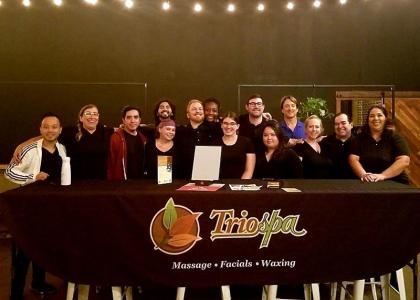 Staff at Trio Spa