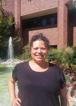 Raquel at the NHI Sacramento Campus